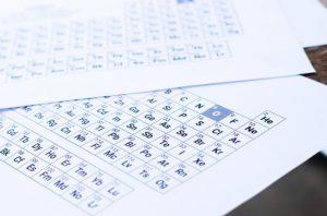 جداول شیمی